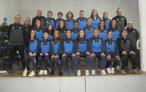LA PHOTO OFFICIELLE DES FEMININES SENIORS